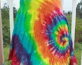 Tie dye Tiered skirt AS IS