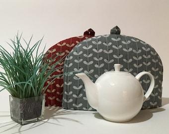 "Tea Cozy (Standard) - ""LEAF STRIPE"""