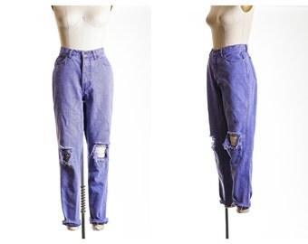 80s Mom Lavender  Mom Jeans size 8