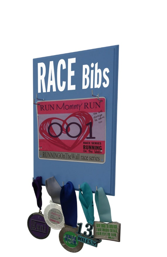 Show your Race Bibs with a Difference : Running bib Hanger - Gifts for runners