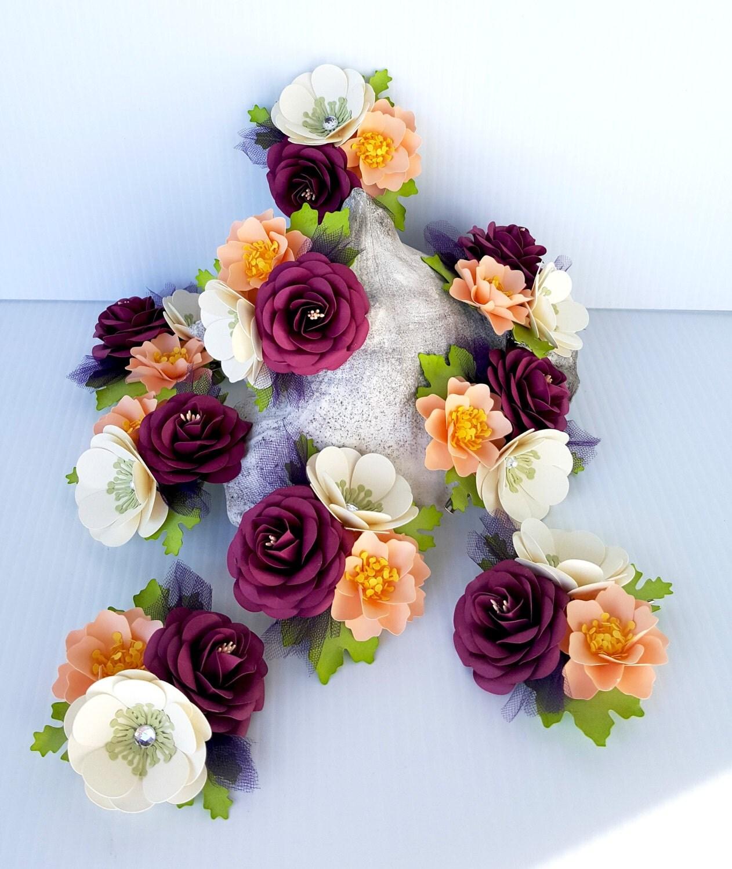Corsages Boutonnieres Paper Flower Corsage Wedding