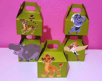 The Lion Guard Party Favor Boxes - Green