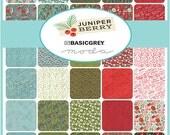 Moda Designer Juniper Berry Fat Quarter Bundle Basic Grey (40) Fat Quarters