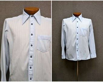 1970s DiLorenzo Men's Polyester Shirt