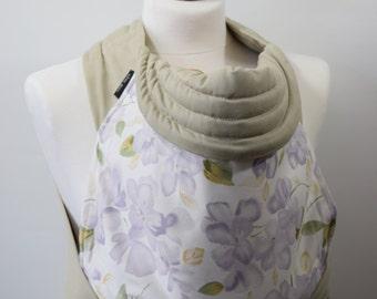 MEI TAI Baby Carrier / Sling  / Reversible / Purple Flower Dream in  straight cut model / Handmade / Made in UK