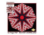 Quilt Kaleidoscope and Diamond Fun, Innovative, Rotary Cut, Tubular, Strip Piecing