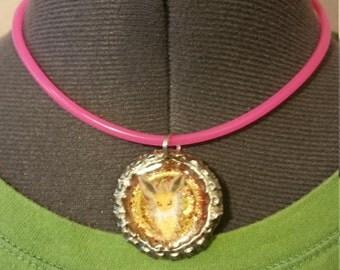Jolteon Bottlecap Pendant Necklace