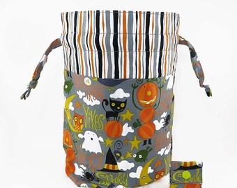"New! ""Say Boo!"" Large Drawstring Project Bag"
