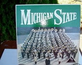 Michigan State, Spartens, Michigan State Band, Collge Record, LP, Fight Song,  Victory for MSU, College Bands, Michigan State Lp, Spartens