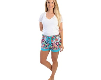 Moroccan roll lounge shorts