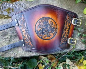 Celtic Hounds Archery Arm Guard Bracer