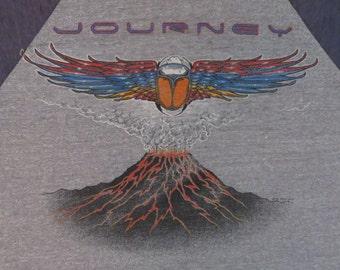 Original JOURNEY 1982 California tour T SHIRT