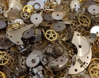 STEAMPUNK GEARS 5g Best Watch Pieces Artist Steam Punk Movement Parts Industrial