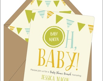 Oh, Baby! Shower Invitations