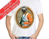 40% OFF TODAY! Sloth Luke Skywalker Star Wars Nature Forest Movie Fan Orange T-Shirt T Shirt Tee Shirt Apparel-1594