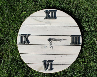 Custom Clock - Made to Order - Reclaimed Wooden Clock