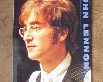 Vintage John Lennon 1991 Calendar Beatles Memorabilia John And Yoko Extra Large Prints