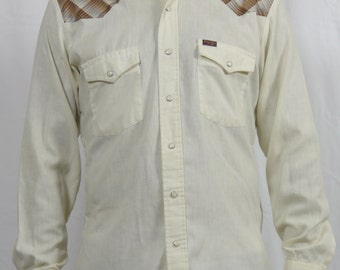 Wrangler Original Western Mother of Pearl Snaps Knit