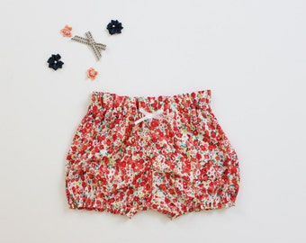Maddie's High Waist Ditsy Floral Bloomers  - Ready to Ship