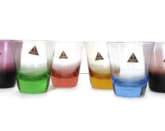 Small Sussmuth Glasses Vintage Germany Shot Glasses Glassware