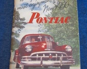 1950 Pontiac Service Guide