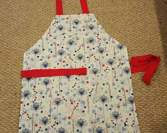 4th of July Handmade Apron (Reversible )
