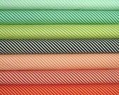 Handmade Candy Stripes Fat Quarter Bundle of 7 by Bonnie & Camille for Moda