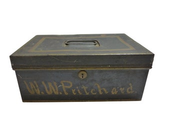 Levey Bros Co Bank Suppliers Document Box ID'd W.W. Pritchard