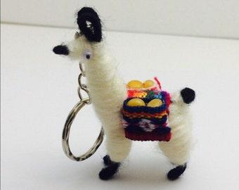 Alpaca keychain, souvenir, unisex gifts, animal lover, item no M012