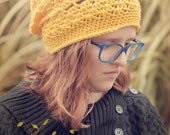 The Yellow Yuppie Slouchy Hat