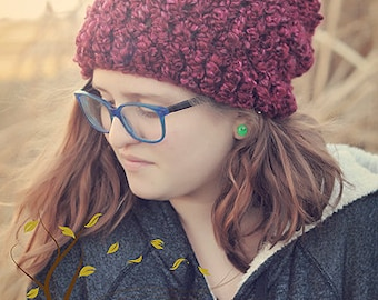 The Reckless Renegade Crocheted Hat Pattern