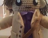Custom Made Spencer Reid Doll - Reserved