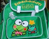 1994 Vintage Keroppi Backpack. Never Used. Great Big Size.