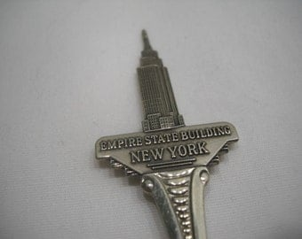 Empire State Building New York Collectible Souvenir Spoon