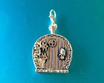 Only One! Gnome or Fairy Wish Door Locket, Zipper Pull or charm