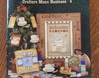 Belive Me Crafters Mean Business 4 by Laurie Spelt, Pattern Book, Tole Painting Patterns