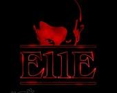 E11E - Stranger Things T-Shirt Design