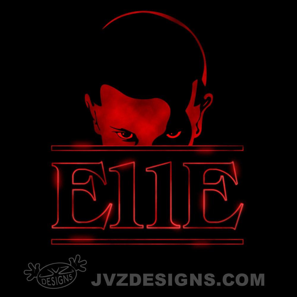 E11E Stranger Things T Shirt Design
