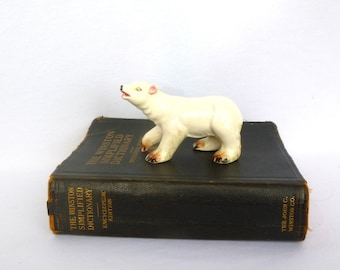 Vintage POLAR BEAR FIGURINE