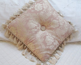 pink shabby chic cushion pillow