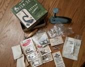 Vintage Brisk-Set Rhinestone Sequin Nailhead Setter #100-A w/Extra Rhinestones