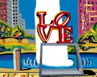 Love, Philly. (Print)