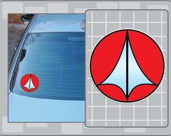 ROBOTECH Logo vinyl decal from Robotech Macross Anime Sticker
