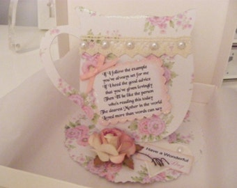 Vintage Teacup and Saucer Card Making Kit