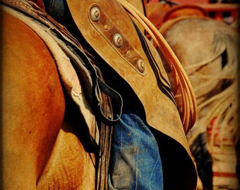 Cowboy Rodeo Country Western Texas Rustic Fine Art Photograph Print