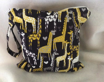 Giraffe Wet Bag-Four sizes