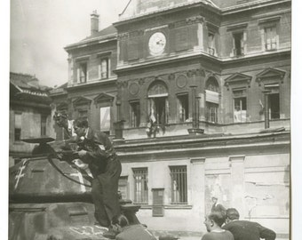 World War Ii France - Vintage Publication Photo - Liberation of Paris 1944