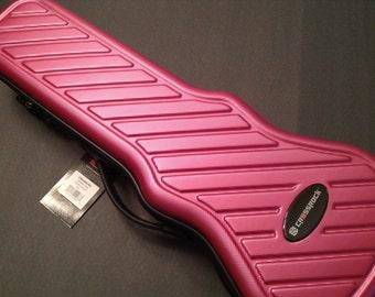Personalized Soprano Crossrock Hybrid Ukulele Case - Customized - Red