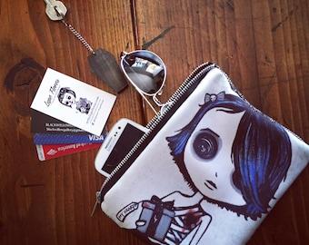 My heart is yours Zipper Bag