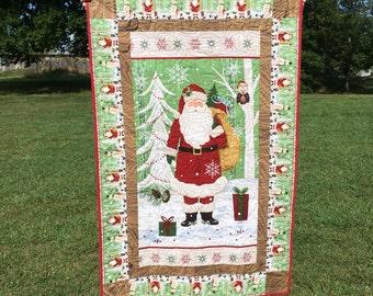 Santa Claus wall hanging 55 x 56